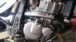 8. Pre 2005 Suzuki DR650 base gasket leak