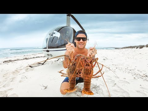 BEST CATCH AND COOK EVER Helicopter To Crazy Remote Australia Rock Lobster - Ep 65 - Thời lượng: 20 phút.
