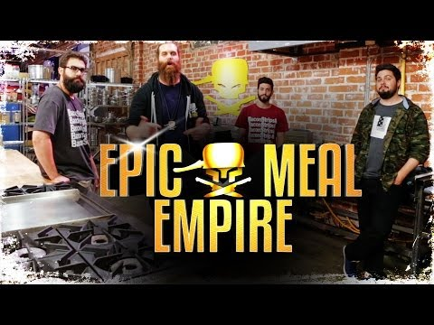 here - Here's an exclusive first look at our new office space and kitchen for our TV show! Make sure to watch Epic Meal Empire coming to fyi on July 26th at 10PM. Epic Meal Empire Exclusive First Look!
