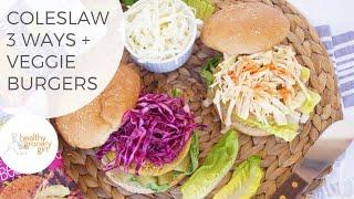 How To Make Vegan Coleslaw: 3 Different Ways