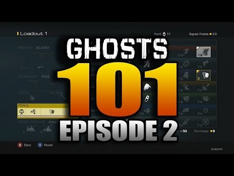 Perks - Tons of videos coming your way today! Be sure to check back :D ○ Ghosts 101 Episode 1: http://youtu.be/s_7T32HOEao ○ How to Unlock Extinction! http://youtu.b...