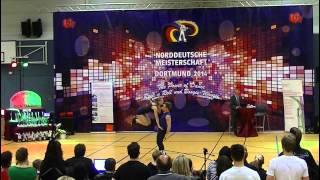 Chantal Roos & Pascal Roos - Norddeutsche Meisterschaft 2014