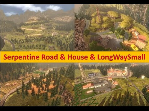 Serpentine Road & House & Long Way Small v6.0