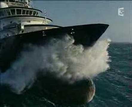 Abeille Bourbon amazing ship! видео