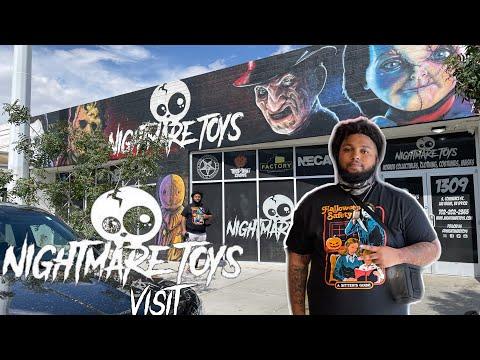 Visiting The Best Horror Store In Las Vegas   Nightmare Toys