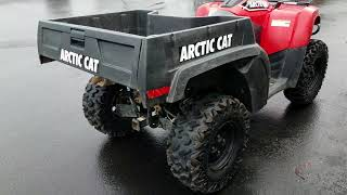 4. 2016 Arctic Cat TBX 700 EPS U7577
