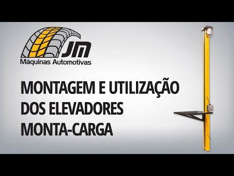 Monta-Carga - Montagem e Utilização