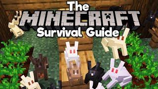 Building a Rabbit Farm! • The Minecraft Survival Guide (Tutorial Let's Play) [Part 254]