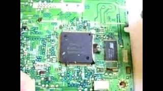 how to remove epoxy resin and smd chips