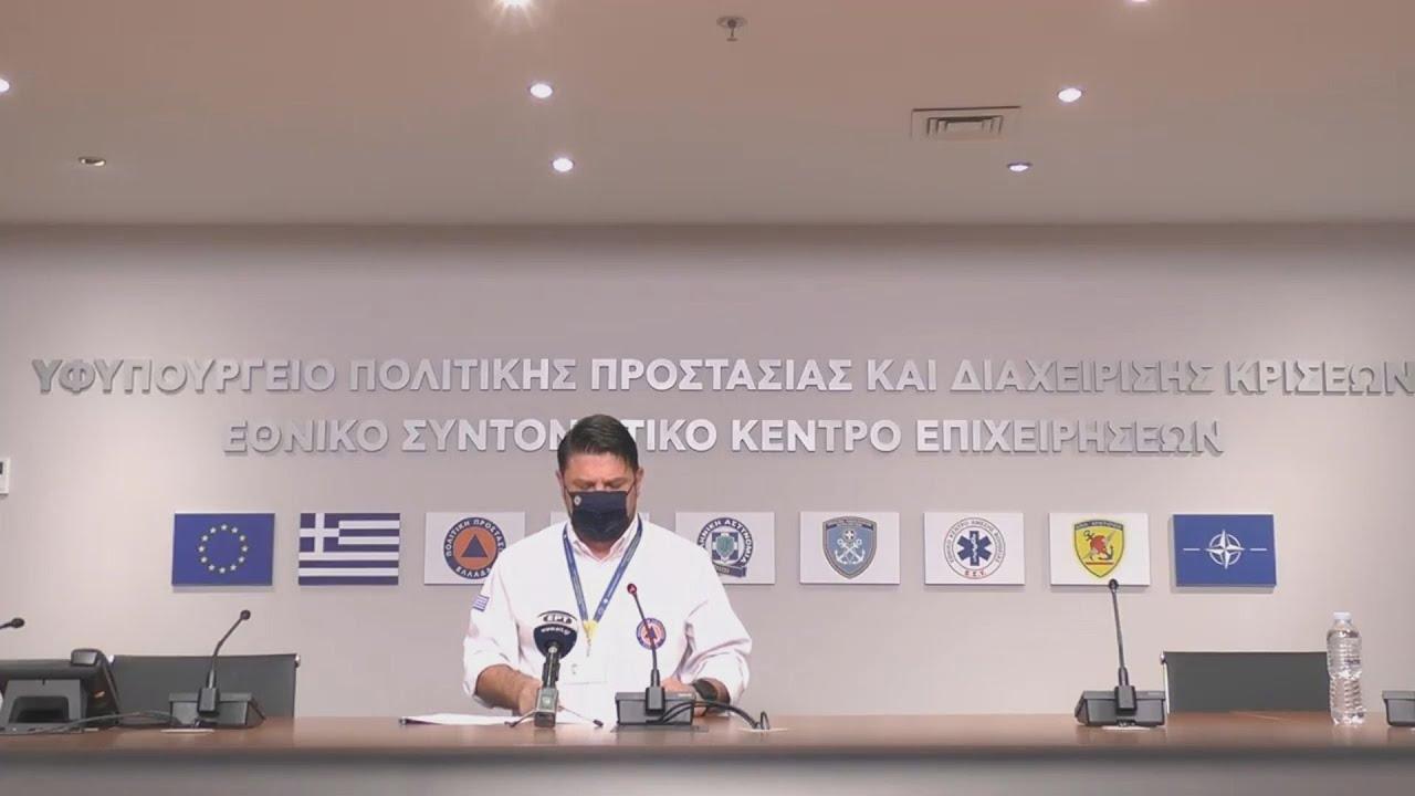 Ν. Χαρδαλιάς: Στο «κόκκινο» και η Θεσσαλονίκη, Λάρισα και Ροδόπη