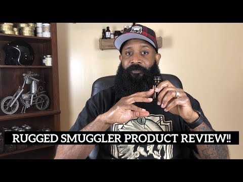 Rugged Smuggler Beard Oil and Balm Product Review !!!