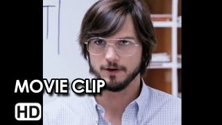 Jobs Instagram Movie CLIP - Type Face (2013) - Steve Jobs Movie HD