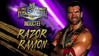 2014 WWE Hall of Fame Inductee: Razor Ramon: Raw, March 24, 2014