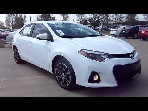 2014 toyota corolla s plus start up exterior interior review. Black Bedroom Furniture Sets. Home Design Ideas