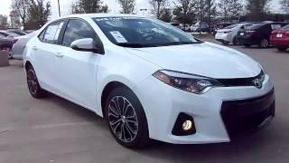 2014 Toyota Corolla S Plus Start Up, Exterior/ Interior Review
