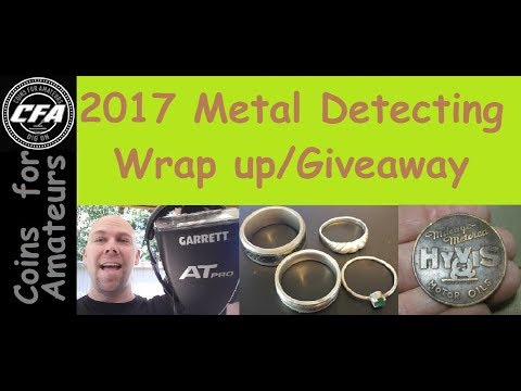 2017 Metal Detecting Wrap Up & Giveaway! *CONTEST CLOSED