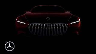 2016 Vision Mercedes-Maybach 6 Coupe Teaser