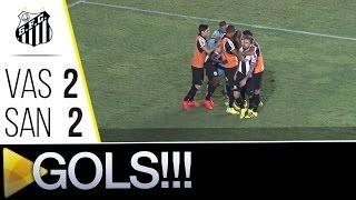 CLASSIFICADOS! Confira os gols do empate em 2 a 2 entre Santos e Vasco, na partida de volta das oitavas de final da Copa do...