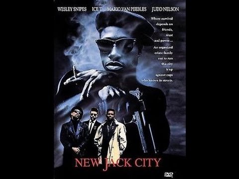 Previews From New Jack City 1998 DVD (Both Sides)