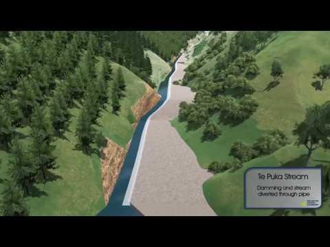 Te Puka Stream diversion