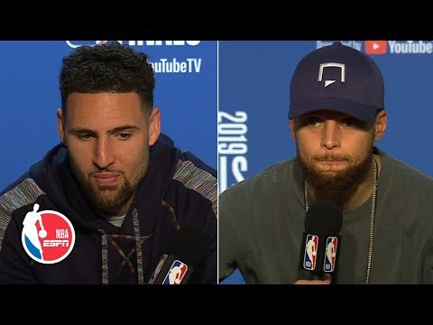 Klay Thompson, Steph Curry on what Warriors can do to bounce back from 3-1 deficit | 2019 NBA Finals