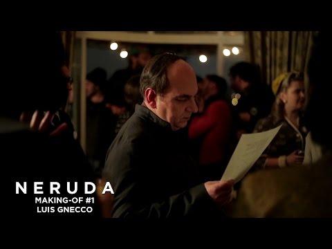 NERUDA - Making-of #1 - Luis Gnecco à propos de Pablo Neruda