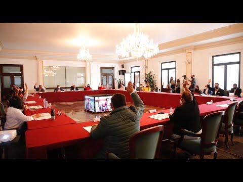 Cabildo H. Ayuntamiento de Tlalnepantla de Baz 26 agosto 2020