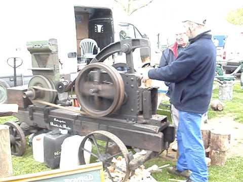 Casse bois moteur bernard rassemblement tracteur et materiels agricole Val d'Ajol (88) 15 mai 2010