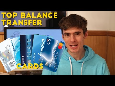 What are the Top BALANCE TRANSFER Cards?