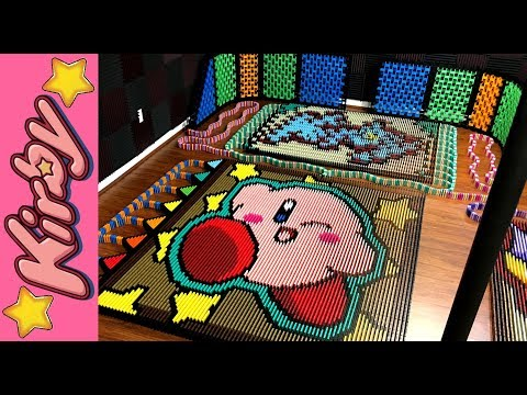 Kirby in 23 613 Dominoes