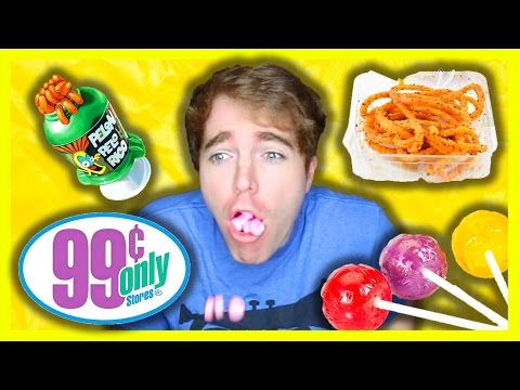 TASTING WEIRD 99 CENT STORE CANDY (видео)