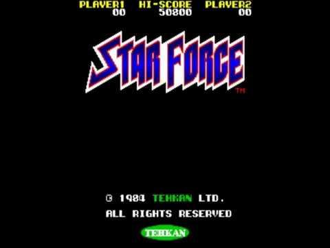 Star Force aka Mega Force   Arcade