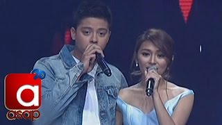 'Crazy Beautiful You' cast performs on ASAP stage