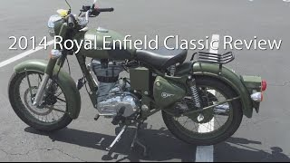 9. 2014 Royal Enfield Bullet Classic C5 Military Motorcycle Review
