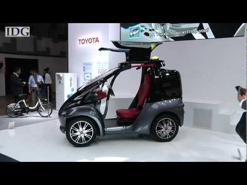 TOYOTA CONCEPT CAR - Toyota's latest concept car, called the Smart INSECT, works as a giant accessory for your cell phone, connecting to all sorts of services once its owner plac...
