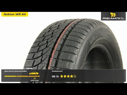 Youtube Nokian WR A4 205/45 R17 88 V XL Zimní