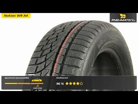Youtube Nokian WR A4 245/50 R18 100 H RFT-dojezdová Zimní
