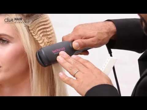Утюжок для волос Diva 412 Argan Crimper