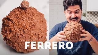 Video FERRERO ROCHER GIGANTE - COMO FAZER? | PÁSCOA | BIGODE SOZINHO NA COZINHA | ESPECIAL PÁSCOA MP3, 3GP, MP4, WEBM, AVI, FLV Mei 2018