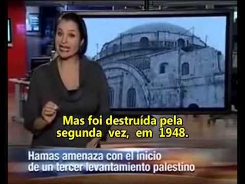 Terceiro Templo de Jerusalém: O Anticristo Vem Aí! Noticiario Reconstrucao da Sinagoga Hurva