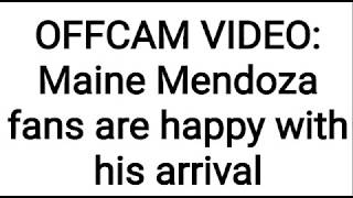 Video Maine Mendoza fancied the fans on his arrival MP3, 3GP, MP4, WEBM, AVI, FLV Agustus 2018