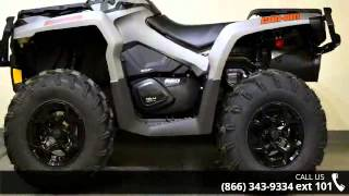 3. 2016 Can-Am Outlander XT 650 Brushed Aluminum  - RideNow ...