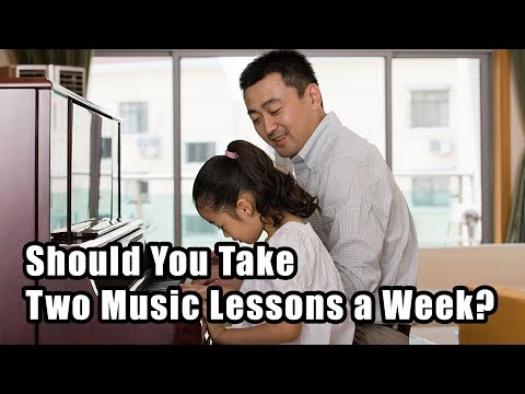 Should You Take Two Music Lessons a Week?