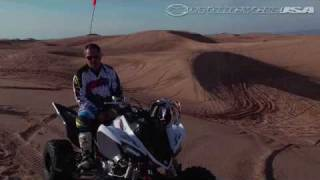10. 2010 Yamaha Raptor 700R SE ATV First Ride - MotoUSA