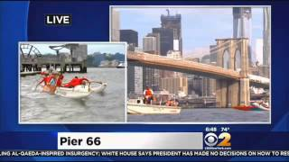 New York Outrigger's 'Liberty Challenge' On The Hudson