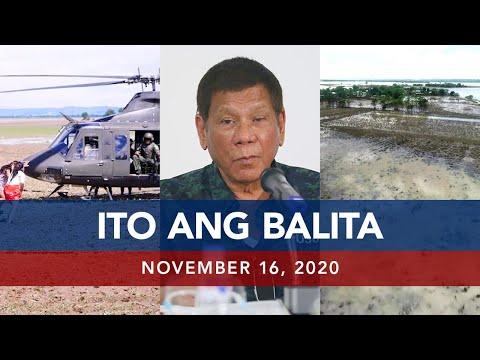 UNTV: Ito Ang Balita | November 16, 2020