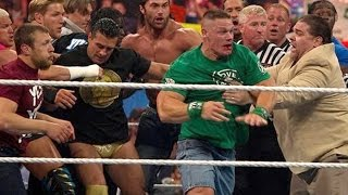 Nonton John Cena And Brock Lesnar Get Into A Brawl That Clears The Entire Locker Room  Raw  April 9  2012 Film Subtitle Indonesia Streaming Movie Download