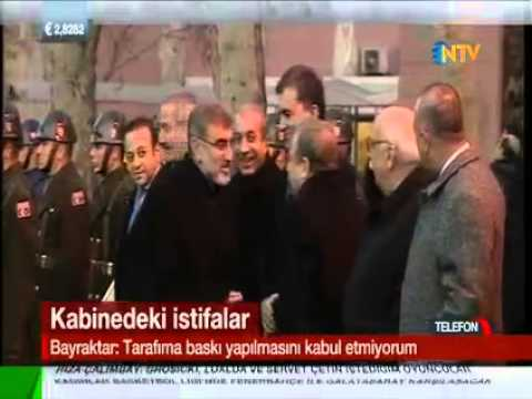 Erdoğan Bayraktar İstifa Etti