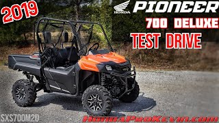 7. 2019 Honda Pioneer 700 DELUXE Quick Drive | Utility Side by Side / SxS / UTV