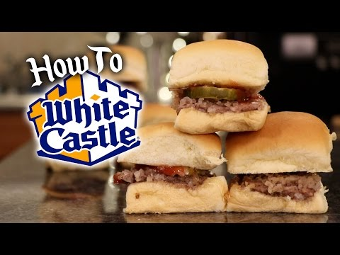 White Castle Copy Cat Hamburgers